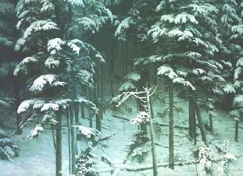 Robert Bateman Descending Shadows