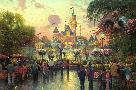 Thomas Kinkade Disneyland 50th Anniversary
