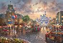 Thomas Kinkade Disneyland 60th Anniversary