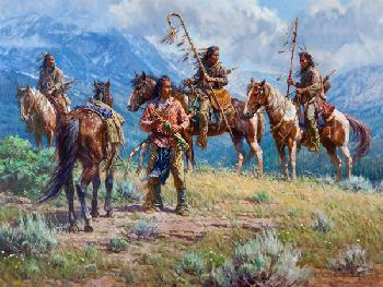 Martin Grelle Distant Signals Signed Open Edition on Paper