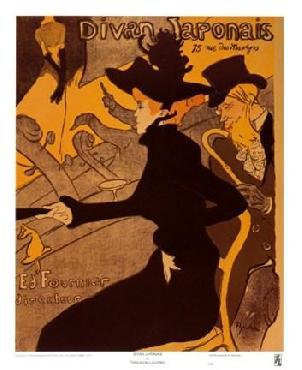 Henri De Toulouse-Lautrec Divan Japonais