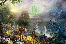 Thomas Kinkade Dorothy Discovers the Emerald City
