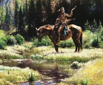 Martin Grelle Dragonflies Giclee on Canvas