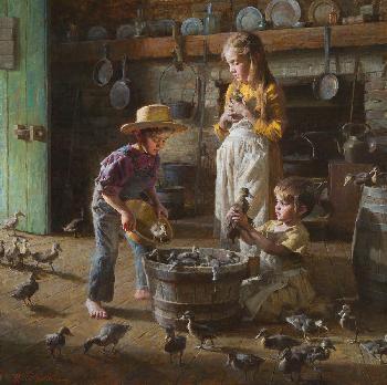 Morgan Weistling Ducklings Artist
