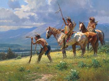 Martin Grelle Dust in the Distance Signed Open Edition on Paper