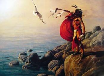 Hermon Adams Eagle Caller