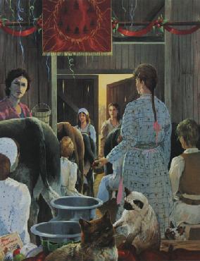 Mario Fernandez Eight Maids A Milking