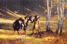 Hermon Adams The Elk Hunter