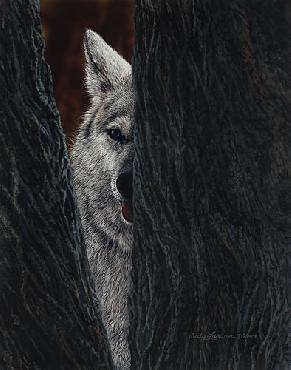 Judy Larson Elusive Giclee on Canvas