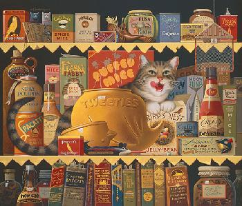 Charles Wysocki Ethel the Gourmet