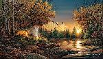 Terry Redlin Evening Solitude