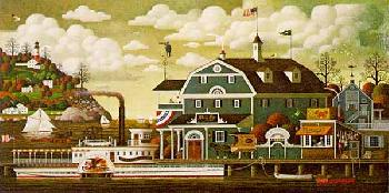 Charles Wysocki Fairhaven by the Sea