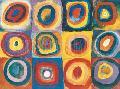 Wassily Kandinsky Farbstudie Quadrate, C.1913