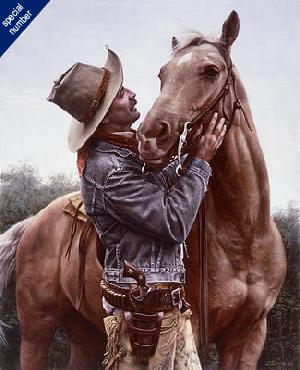 Don Stivers A Few Kind Words Print #1/500 Giclee on Paper Commemorative Edition