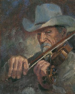 Lyndy Benson Fiddler Canvas