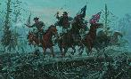 Mort Kunstler The Fight at Fallen Timbers