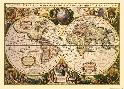 Mercator Map Flemish 1512-1594