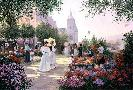 Christa Kieffer Flower Market Along the Seine