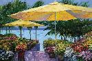 Howard Behrens Flowers by the Sea