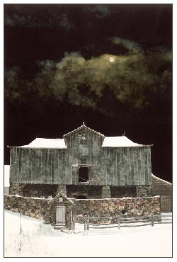 Peter Sculthorpe Foaling Moon Giclee on Paper