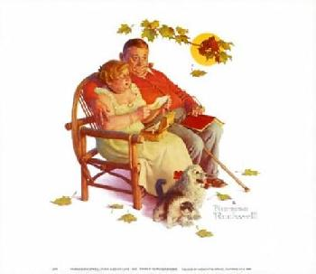 Norman Rockwell Fondly Do We Remember