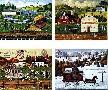Charles Wysocki Four Seasons