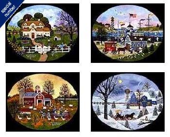 Jane Wooster Scott Four Seasons Oval Suite Print #1/175 Artist
