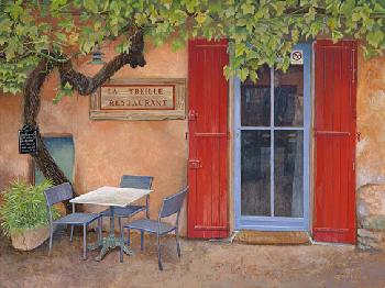 Monte Dolack French Suite - Provencal Cafe