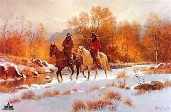 G. Harvey Fresh Snow - First Light