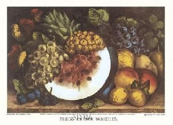 Currier and Ives Fruits Autumn Varieties