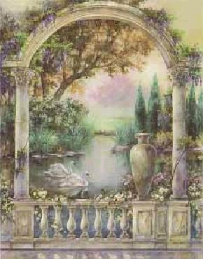 Lena Liu Garden of Paradise - Swan Duet