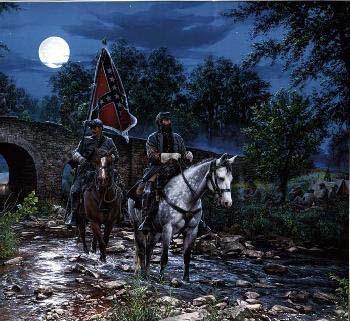 John Paul Strain Gettysburg Moon Artist