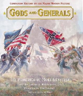 Mort Kunstler Gods and Generals Book Hardcover Book