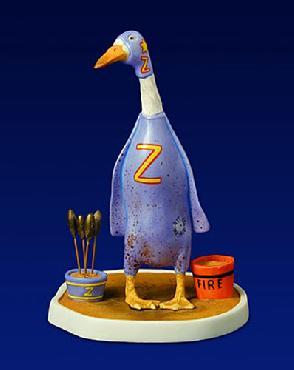 Will Bullas Zippo� The Fire Eater Fine Art Porcelain Figurine