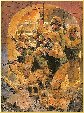 Dale Gallon Operation Iraqi Freedom