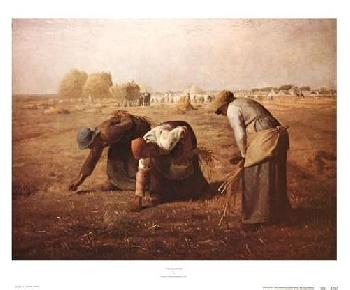 Jean Francois Millet The Gleaners, 1857