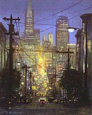 Peter Ellenshaw Glow of San Francisco