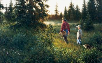 Robert Duncan Good Times Giclee on Canvas