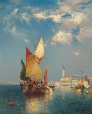 Thomas Moran Grand Canal Canvas