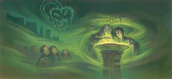 Mary Grandpre Harry Potter - Half-Blood Prince Giclee on Paper