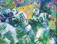 LeRoy Neiman Handoff-Super Bowl III
