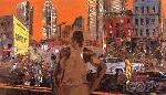 LeRoy Neiman Harlem Streets