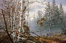 David Maass Hasty Departure - Ruffed Grouse