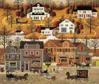 Charles Wysocki Hawk River Hollow Artist