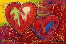 Steve Kaufman Heart 2 Heart 1