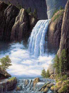 Ronnie Hedge Heavenly Place Canvas