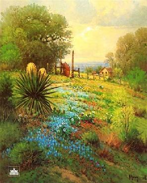 G. Harvey Hill Country Spring Artist