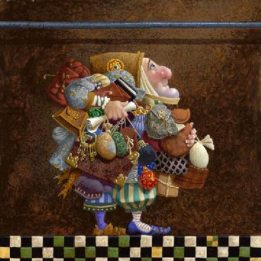 James Christensen Hold to the Rod, the Iron Rod Fine Art Paper