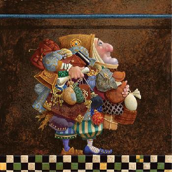 James Christensen Hold to the Rod, the Iron Rod Open Edition on Paper