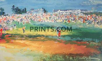 LeRoy Neiman Home Hole At Shinnecock Hand Pulled Serigraph